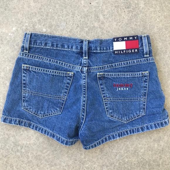 tommy hilfiger shorts vintage patch poshmark
